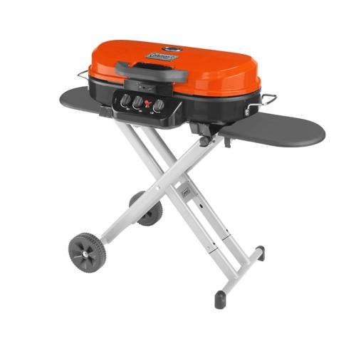New Coleman RoadTrip 285 Portable Stand-Up Propane Grill Ora