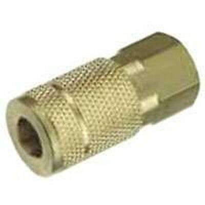 New Plews Tru-flate 13-611 Air Line Compressor 14 Female Coupler Hose Fitting