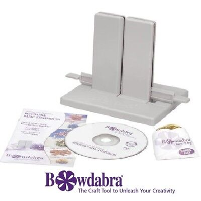 - Bowdabra® Designer Large Bow Maker Kit BOW1003 Craft Tool with Starter Supplies