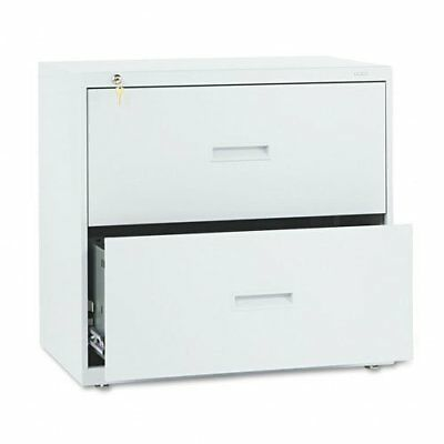 Hon 400 Series Lateral File With Lock - 30 X 19.3 X 28.4 - Steel - 2 X File
