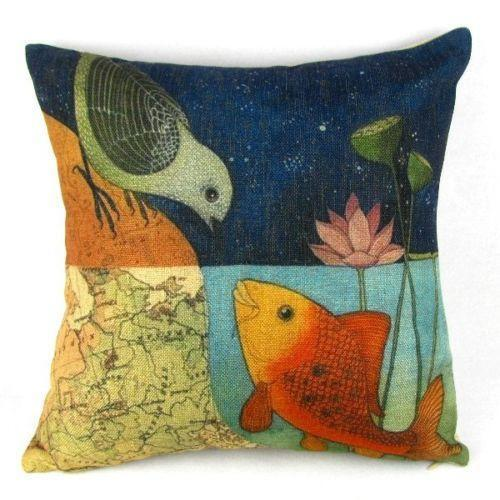 Decorative Bird Pillows Ebay