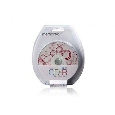 Memorex 52x 700mb 80min CD-R 10 Pack