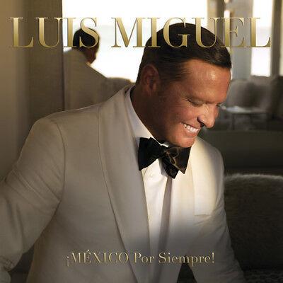 Luis Miguel   Mexico Por Siempre   New Cd