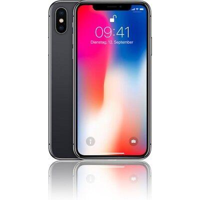 Apple  iPhone X - 256GB mit Allnet Flat nach Wahl
