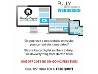 Bespoke website design - 8 page design - FREE lifetime web hosting WAS £499 NOW £199 one off cost!