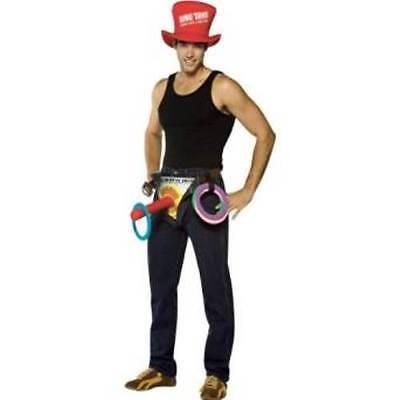 Men's Halloween Costume Rasta Imposta Get Waisted Ring Toss ADULT SEXY  - Adult Ring Toss