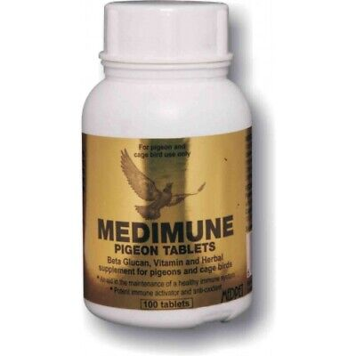 Pigeon Product - Medimune 100 pills (immunity) by MedPet