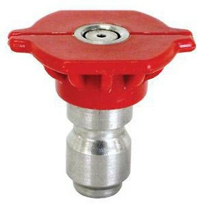 Be 85.201.030bep Red Pressure Washer Tip 0 Degree - Size .30