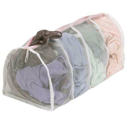 Household Essentials 130 Polyester Mesh Hosiery Wash Bag | Gently Wash Delicates