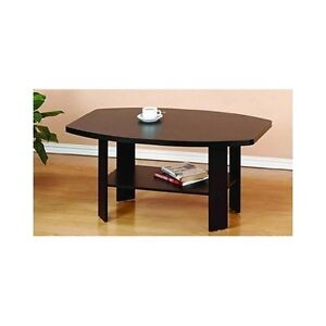 Coffee Table Espresso Storage Small Cheap Living Room