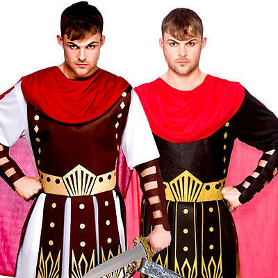 Roman Soldiers Mens Fancy Dress Ancient Greek Gladiator Warrior Adults Costumes - Ancient Greek Warrior Costume