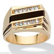Mens Emerald Ring