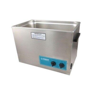 Crest P1800h-45 Ultrasonic Cleaner-heat Timer-5.25 Gal