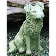 Collie Garden Ornament