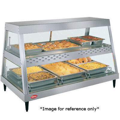 Hatco Grhd-3p See-thru Countertop Heated Display Case With 3 Pan Single Shelf