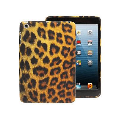Softcase Schutzhülle Case Cover für iPad Mini 1 & 2 Leopard Muster Braun (Ipad Soft-cover)