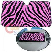 Windshield Sunshade Pink