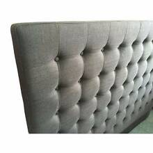 Cilantro Fabric Headboard/Offer From Northern Side Reservoir Darebin Area Preview