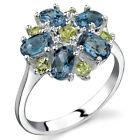 London Blue Topaz Fine Rings