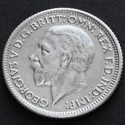 George V Sixpence
