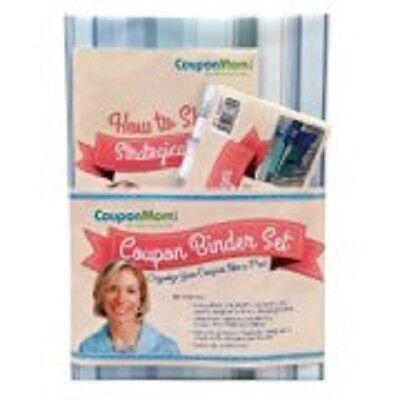 Coupon Mom Organizing Binder Set Blue Stripe Design (Hardcover)  (free shipping)