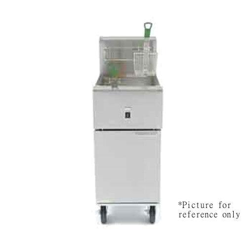 Frymaster SR114E Electric 40 lb Full Pot Fryer w/ Basket Han