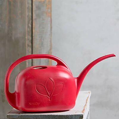 Novelty 30705 Plastic Watering Can, Red, 1-Gallon