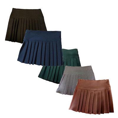 Britney Spears School uniform Skirt Pleated short length BIG SIZES 18 20 22 28+