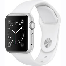 Apple Watch Gen 2 Series 1 38mm Silver Aluminum - White Sport Band MNNG2CL/A