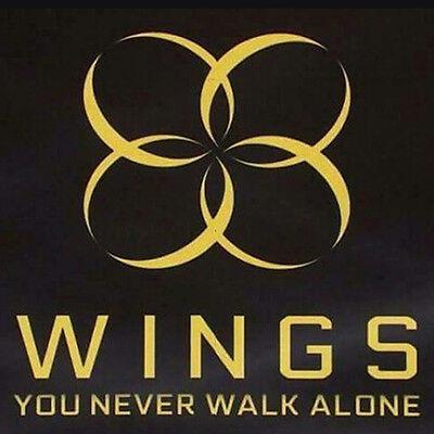 BTS-[WINGS:YOU NEVER WALK ALONE]Album Random Ver CD+PhotoBook+Card+Gift Sealed