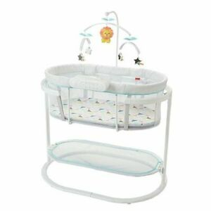 Fisher-Price Soothing Motions Bassinet - Almost New
