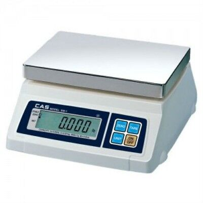 Cas Sw-10 Portion Control Scale 10lb X 0.005 Lbnteplegal For Tradenew