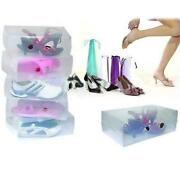 Plastic Shoe Boxes