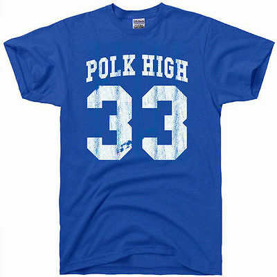AL BUNDY polk high vintage 80s football jersey 33 costume gift gym T Shirt BLUE - Football Costum