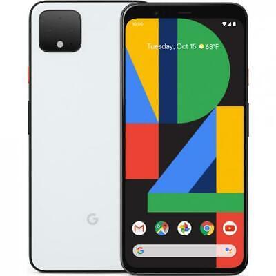Google Pixel 4 64GB Verizon Smartphone 5.7  FHD Display 6GB RAM 4G Clearly White