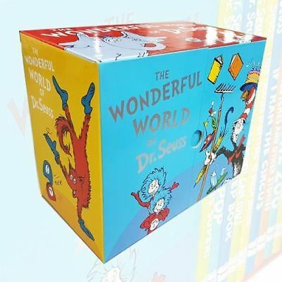 Wonderful World of Dr Seuss Collection 20 Books Box Set (Dr Seuss on the Loose!,