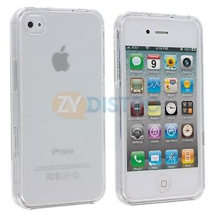 Crystal Clear Hard New Case Cover for Apple iPhone 4S 4G 4