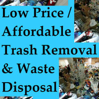 When the junk is piling up, call us: we do junk removal