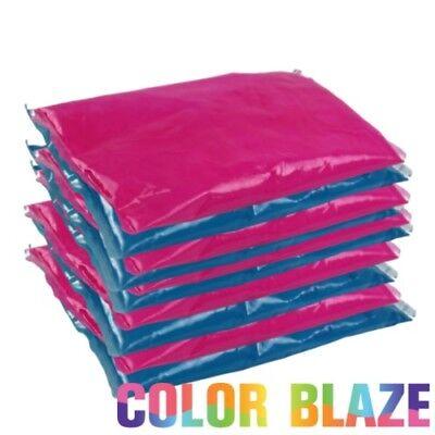 Gender Reveal Color Powder Packets - 5 blue/5 Pink Powder Blue Color