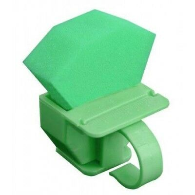 Endodontic Instruments And Canal Lubricant Ring Organizer Refill Foam - Green