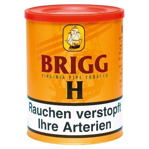5 x Pfeifentabak Brigg H à 180 Gramm / 3872