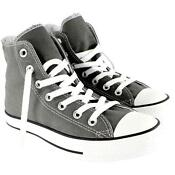 Converse All Star Size 7 Grey
