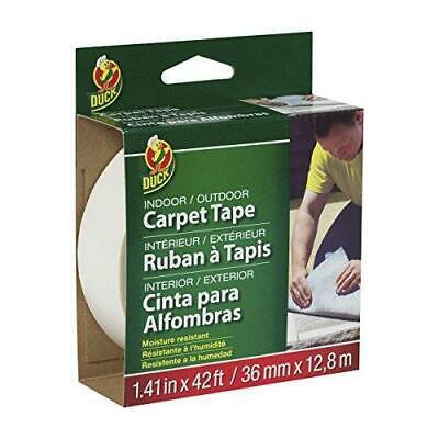 Duck 286373 Indooroutdoor Carpet Tape 1.41-inch X 42 Feet White