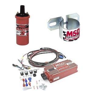 MSD Ignition Kit - Digital 6AL Box/Blaster 2 Coil/Universal Coil Bracket