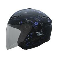 LADIES HELMET WITH BUTTERFLIES