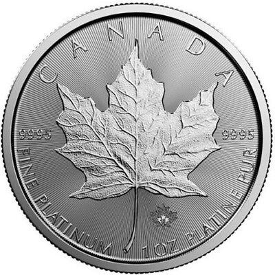 2018 1 oz Canadian Platinum Maple Leaf Coin (BU)