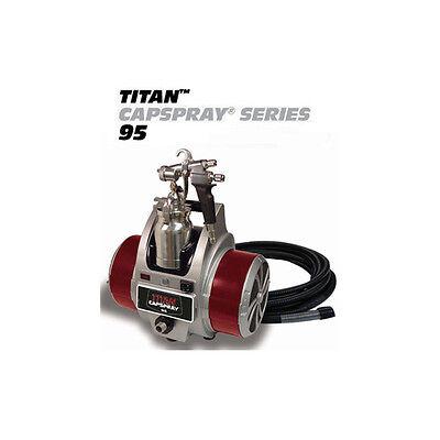Titan Capspray Cs95 Hvlp 9.5psi 4-stage Turbine Sprayer 0524032 524032
