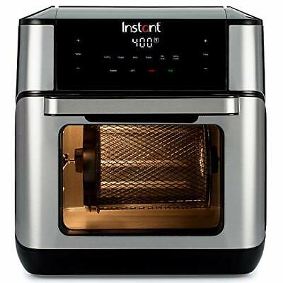 Instant Vortex Plus 7-in-1 Air Fryer, Toaster Oven, and Rotisserie Oven,10 Quart