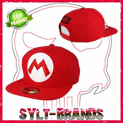 Super Mario Caps Nintendo Snapback Kappe Baseballcaps Basecaps - Super Mario Hats