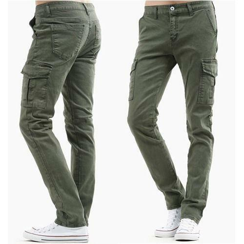 Shop from the world's largest selection and best deals for Cargo Slim Fit Pants for Men. Free delivery and free returns on eBay Plus items.